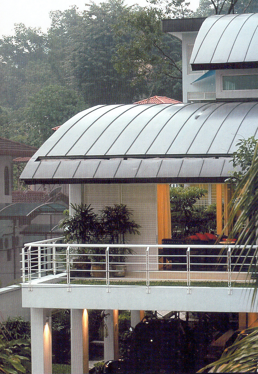 Ukay Heights House, Commendation for Innovative use of steel