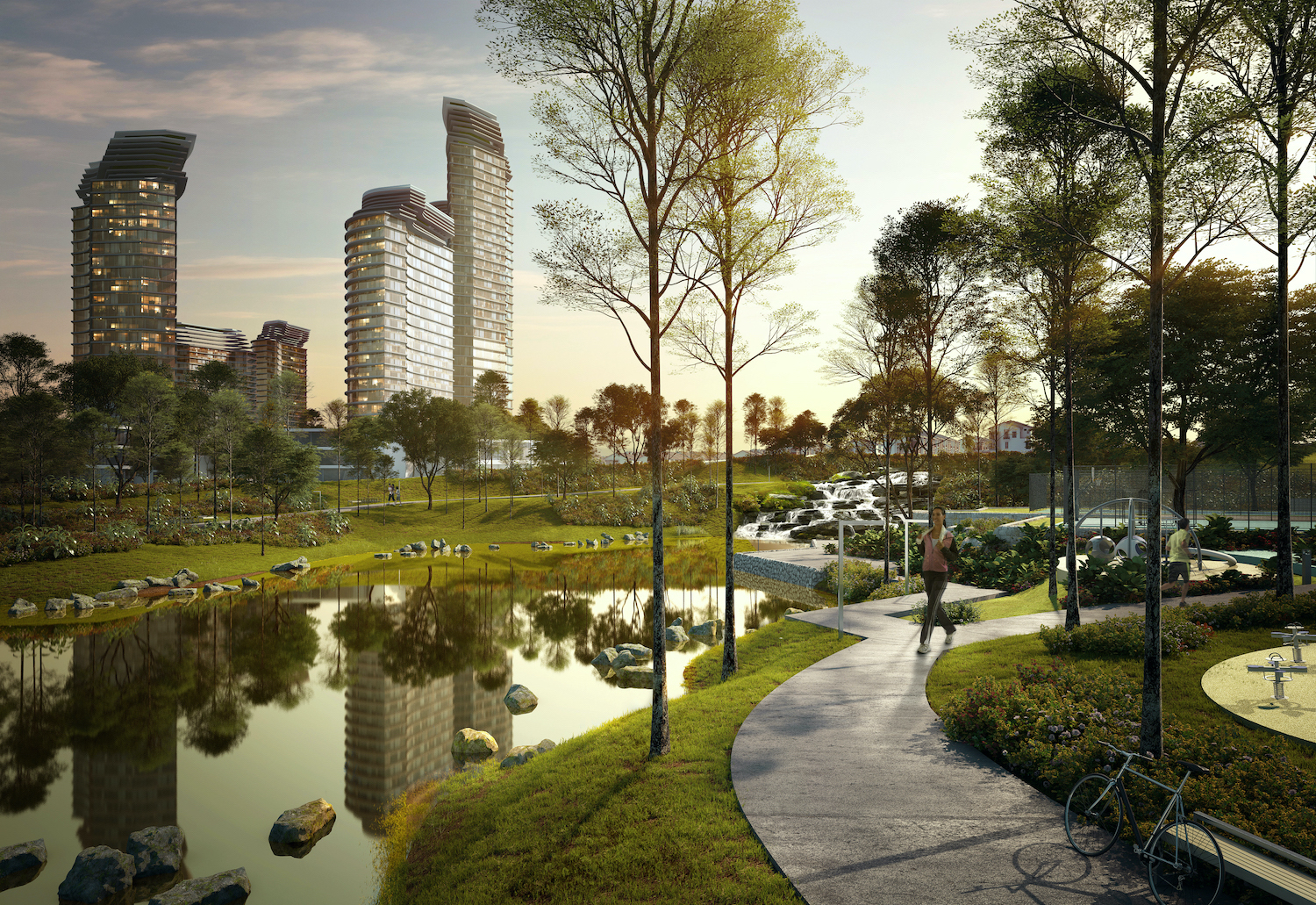 Park view of Tropicana Kajang