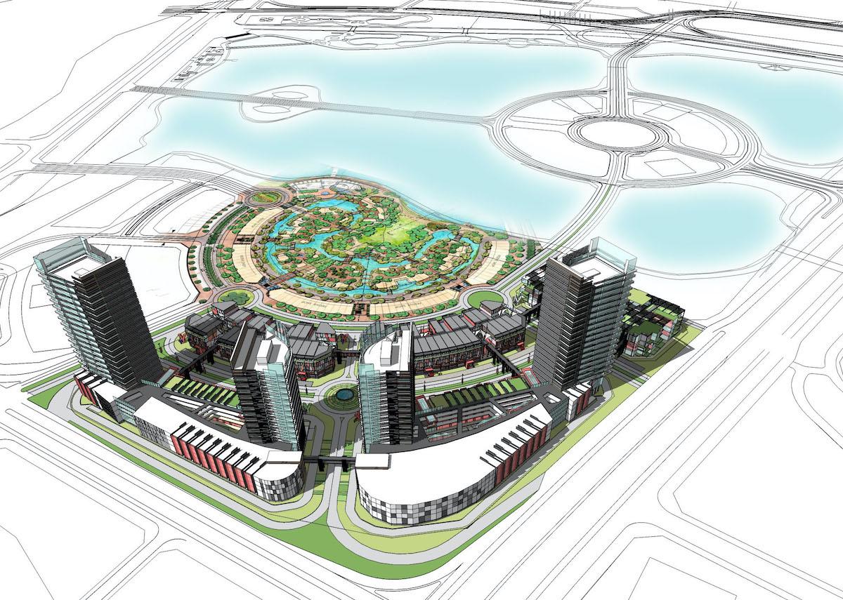 Yensopark Masterplan
