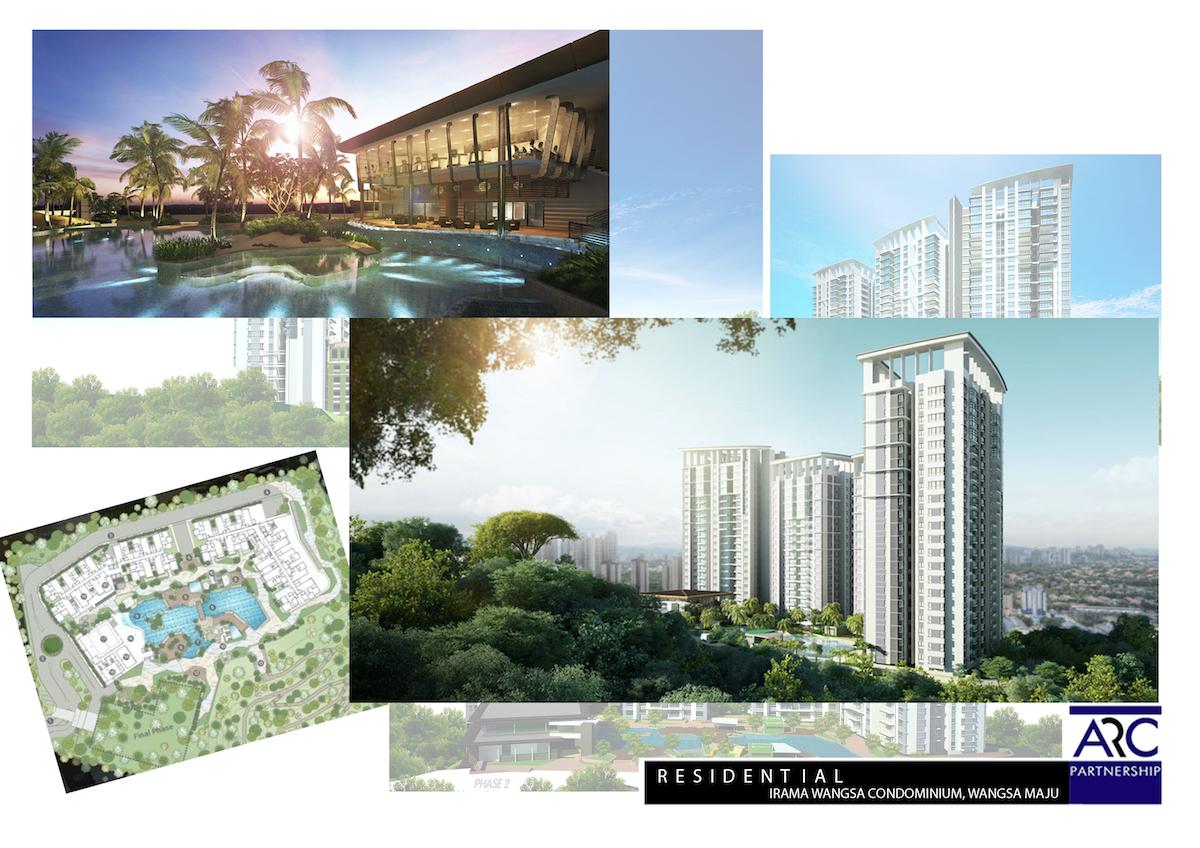 Development collage