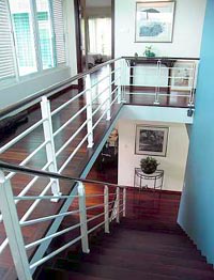 Staircase to the third floor